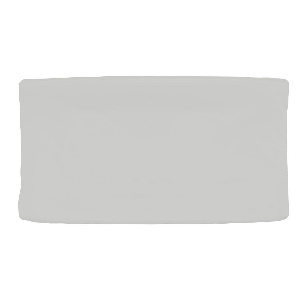 Product image for Solid Silver Gray Changing Pad Cover