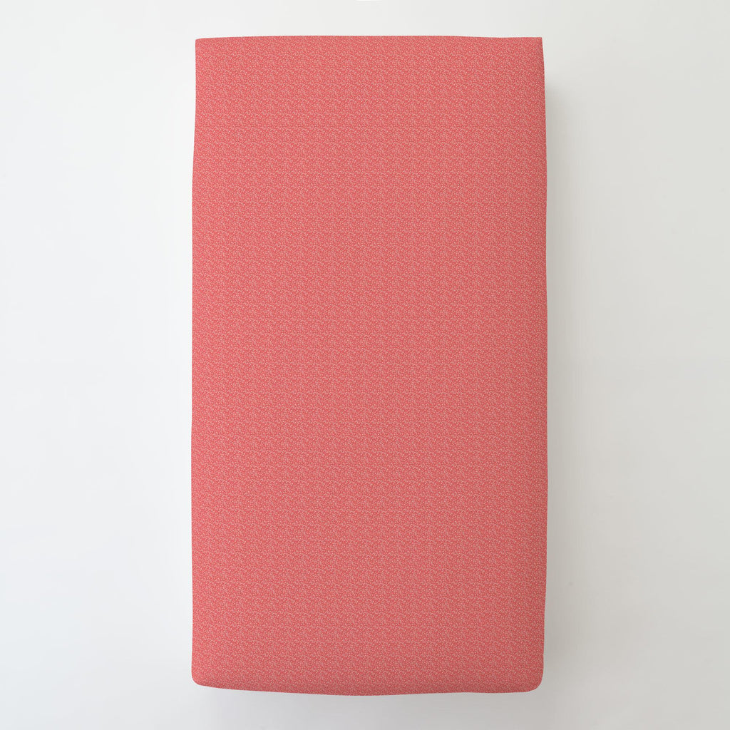 Product image for Coral Confetti Toddler Sheet Bottom Fitted