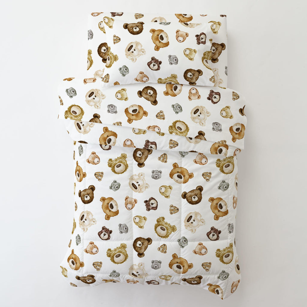 Product image for Teddy Bears Toddler Comforter