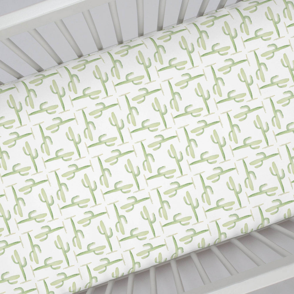 Product image for Arizona Cactus Crib Sheet