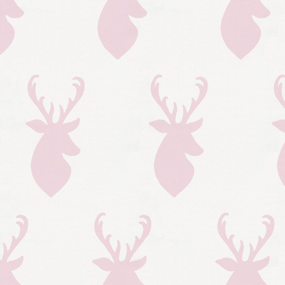 Product image for Pink Deer Head Crib Comforter