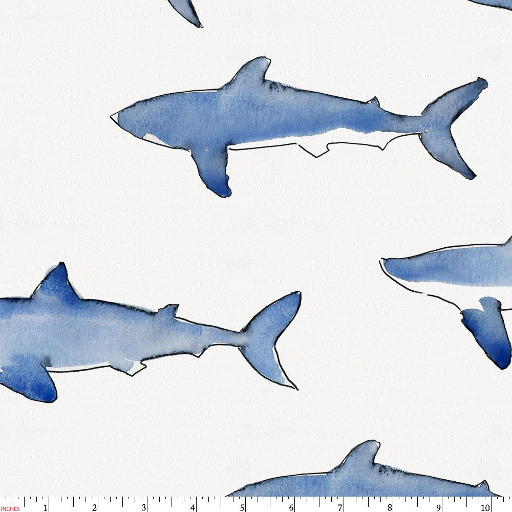 Product image for Blue Sharks Fabric