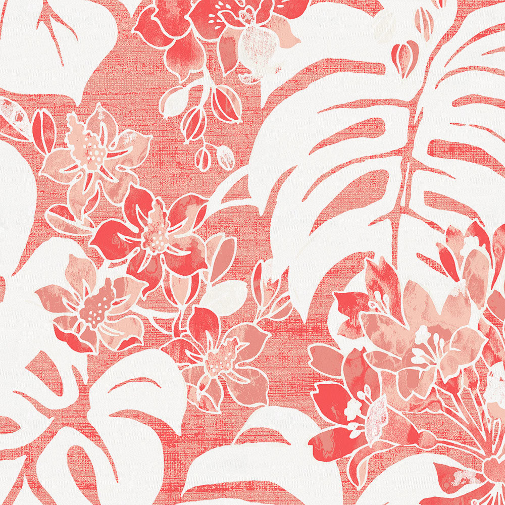Product image for Light Coral Tropical Drape Panel