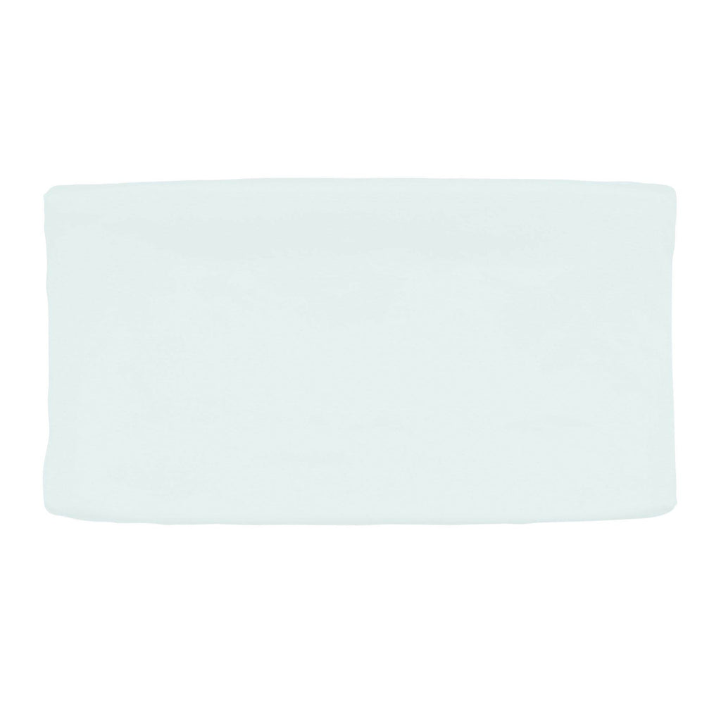 Product image for Light Blue Linen Changing Pad Cover