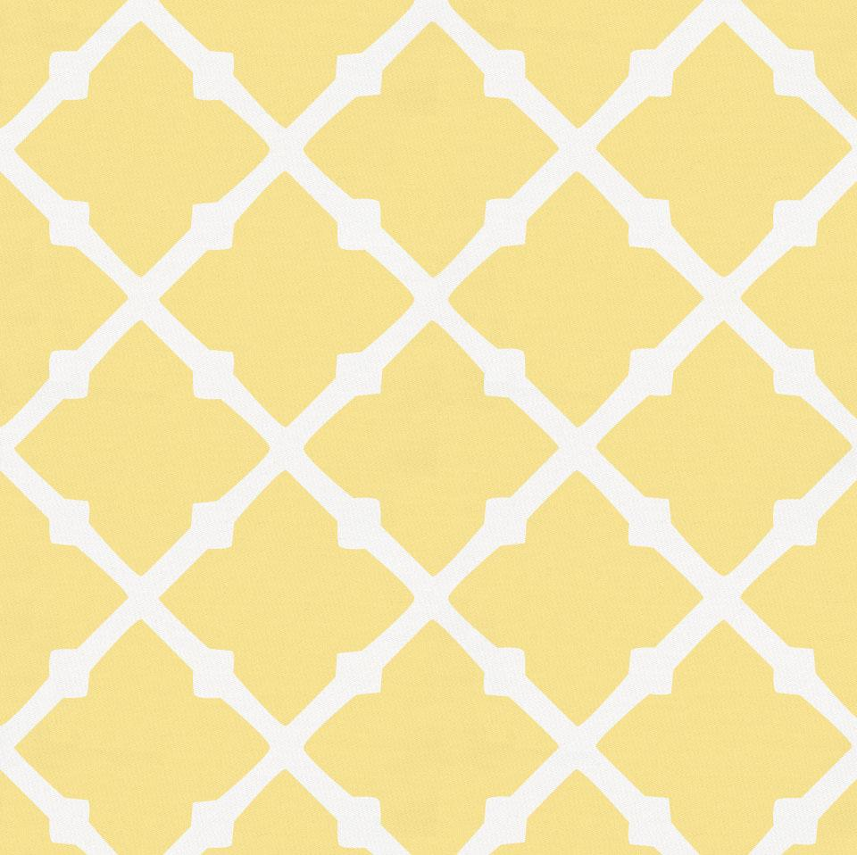 Product image for Banana Yellow Lattice Pillow Sham