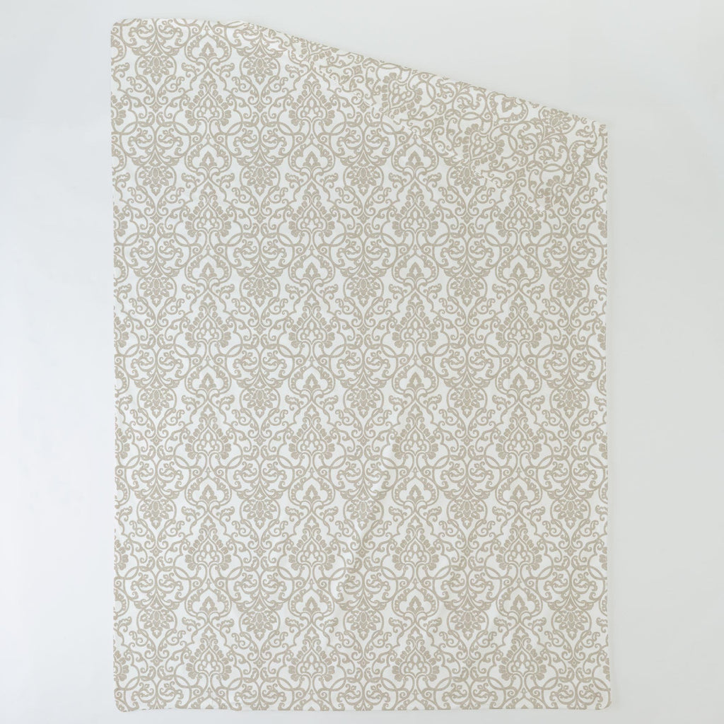 Product image for Taupe Filigree Duvet Cover