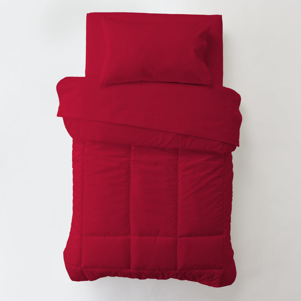 Product image for Solid Red Toddler Comforter