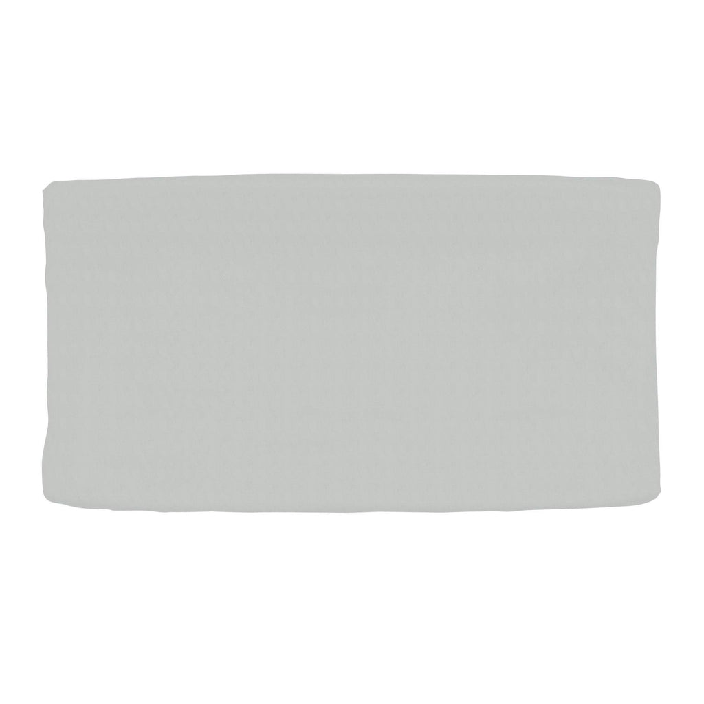 Product image for Silver Gray Minky Changing Pad Cover