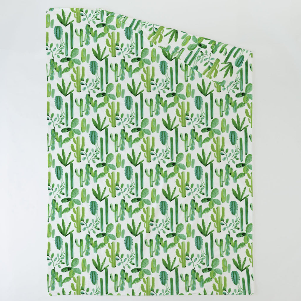 Product image for Green Painted Cactus Duvet Cover