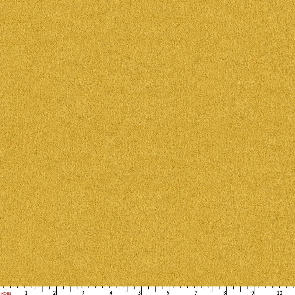 Product image for Solid Gold Minky Fabric