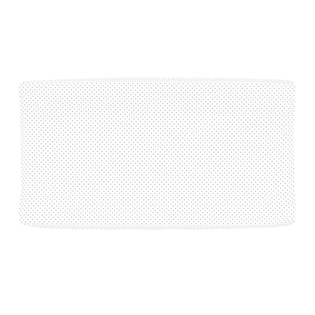 Product image for Cloud Gray Pin Dot Changing Pad Cover