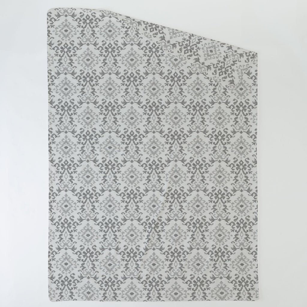 Product image for Gray Ikat Damask Duvet Cover
