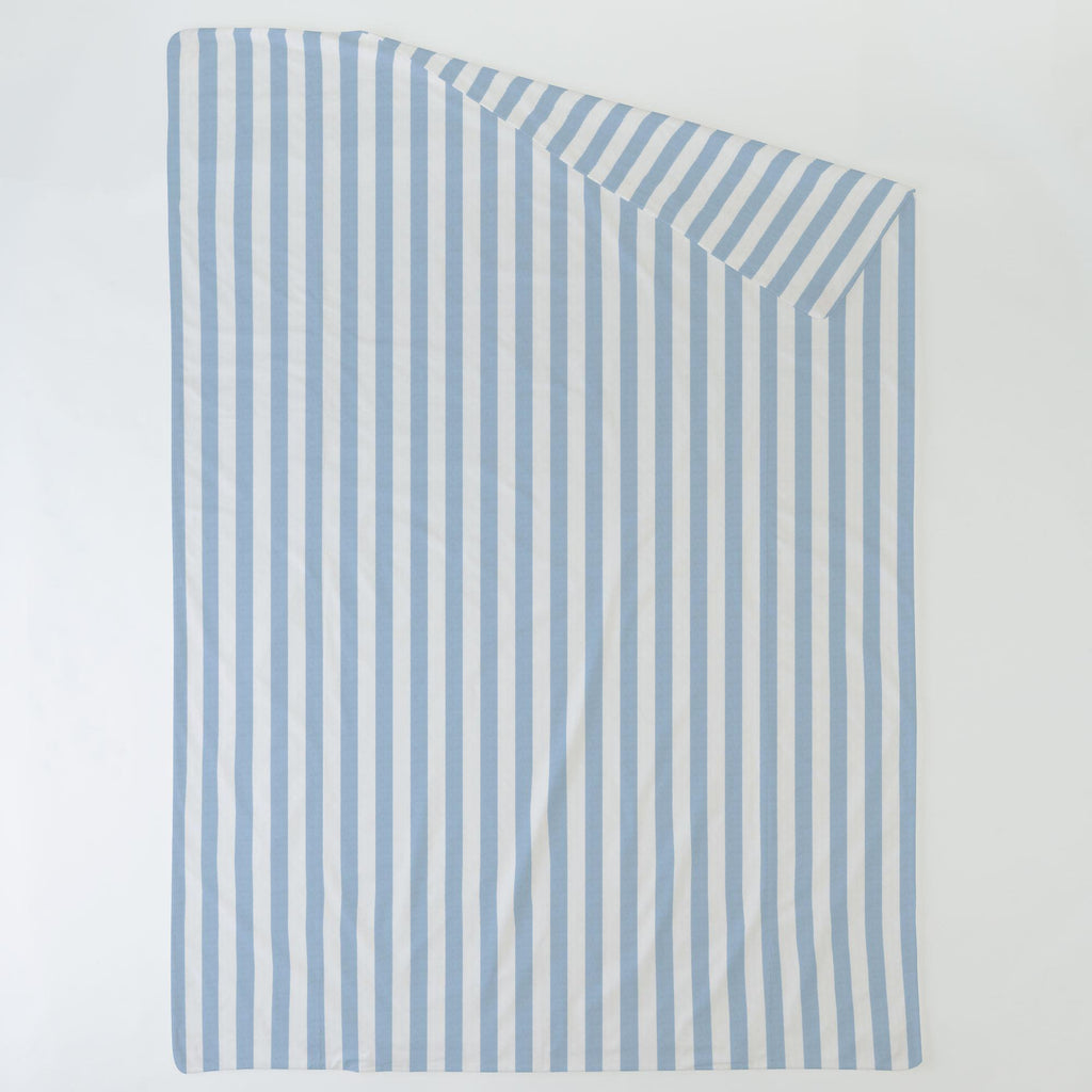 Product image for Blue Giddy Stripe Duvet Cover