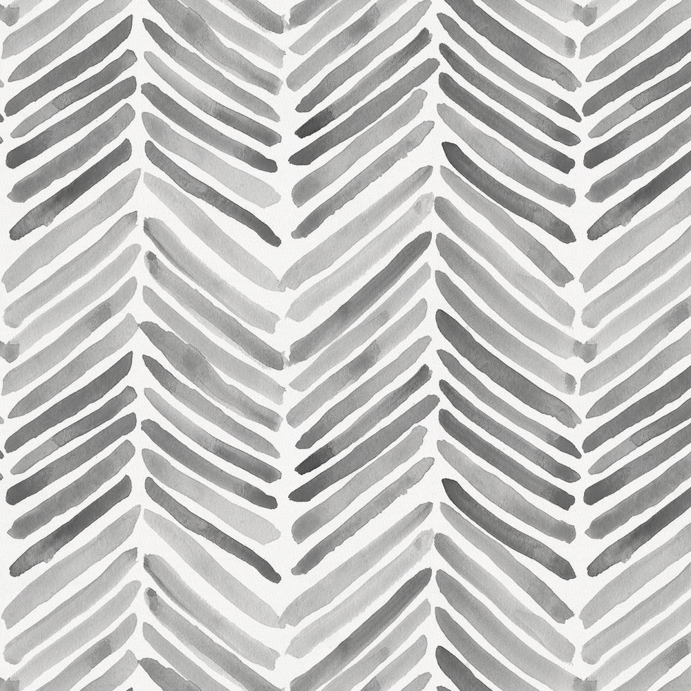 Product image for Gray Painted Chevron Accent Pillow