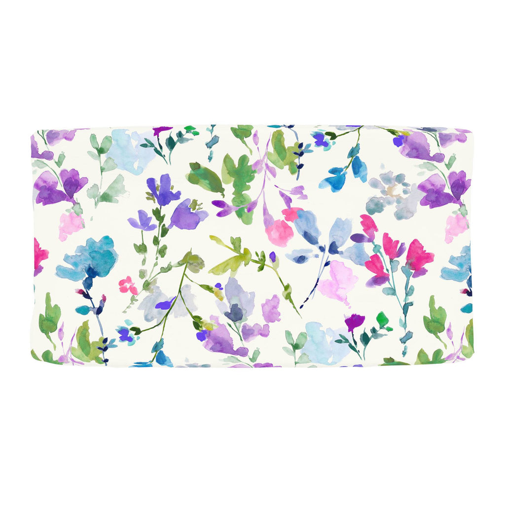 Product image for Bright Wildflower Changing Pad Cover