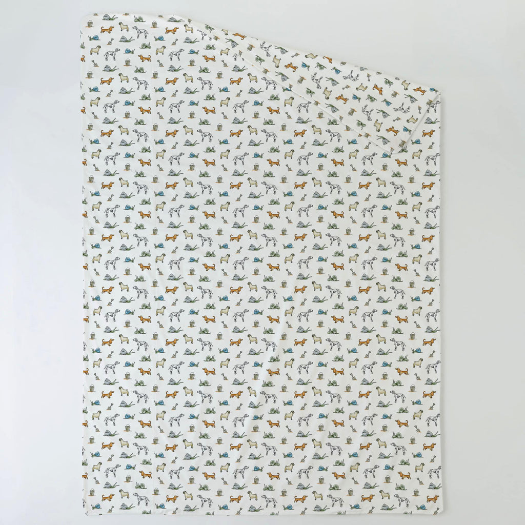 Product image for Snails and Tails Duvet Cover