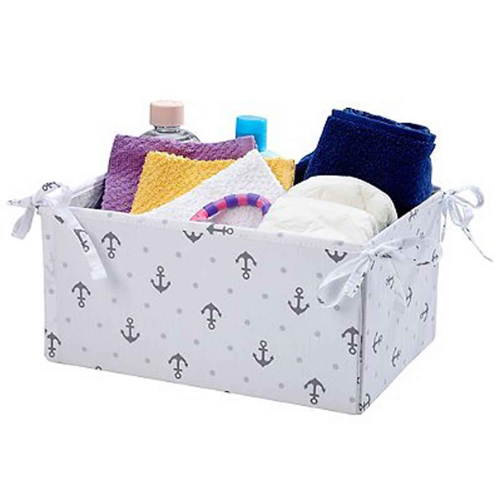 Product image for Gray Anchors Nursery Organizer