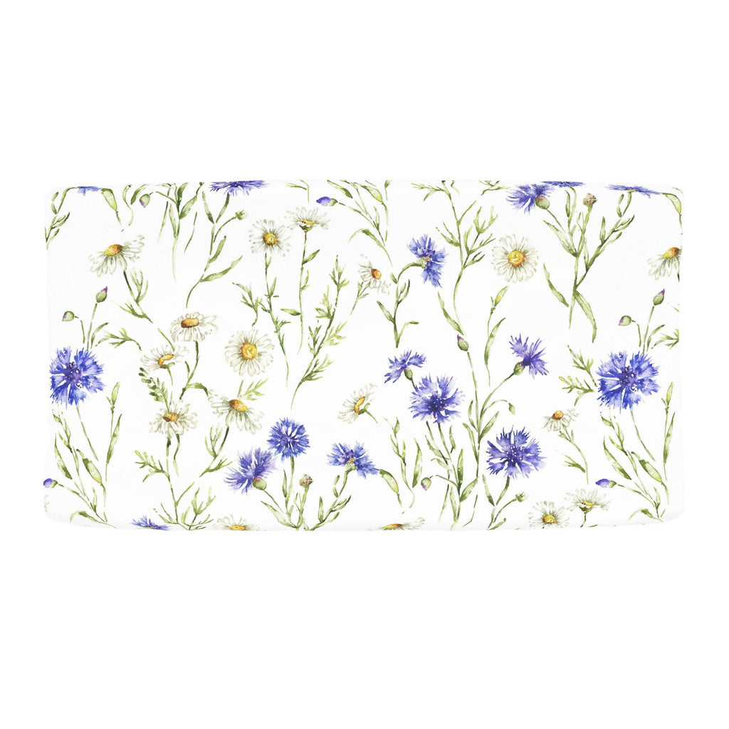 Product image for Cornflower Fields Changing Pad Cover