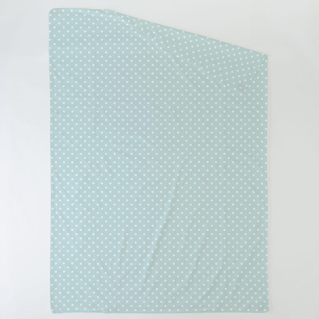Product image for Mist and White Polka Dot Duvet Cover