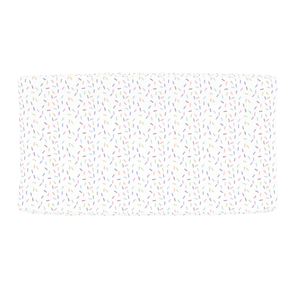 Product image for Pastel Sprinkles Changing Pad Cover