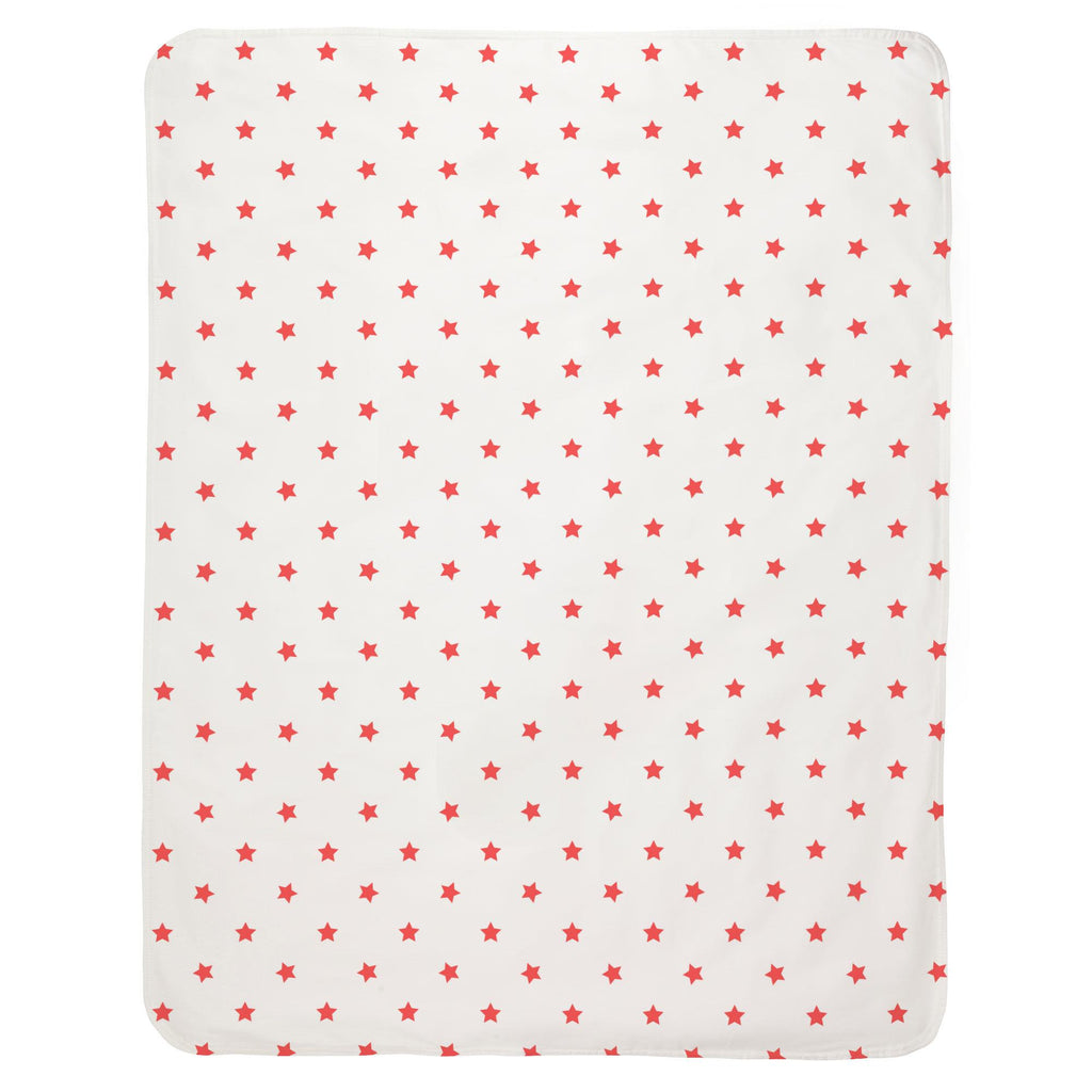Product image for Coral Stars Baby Blanket