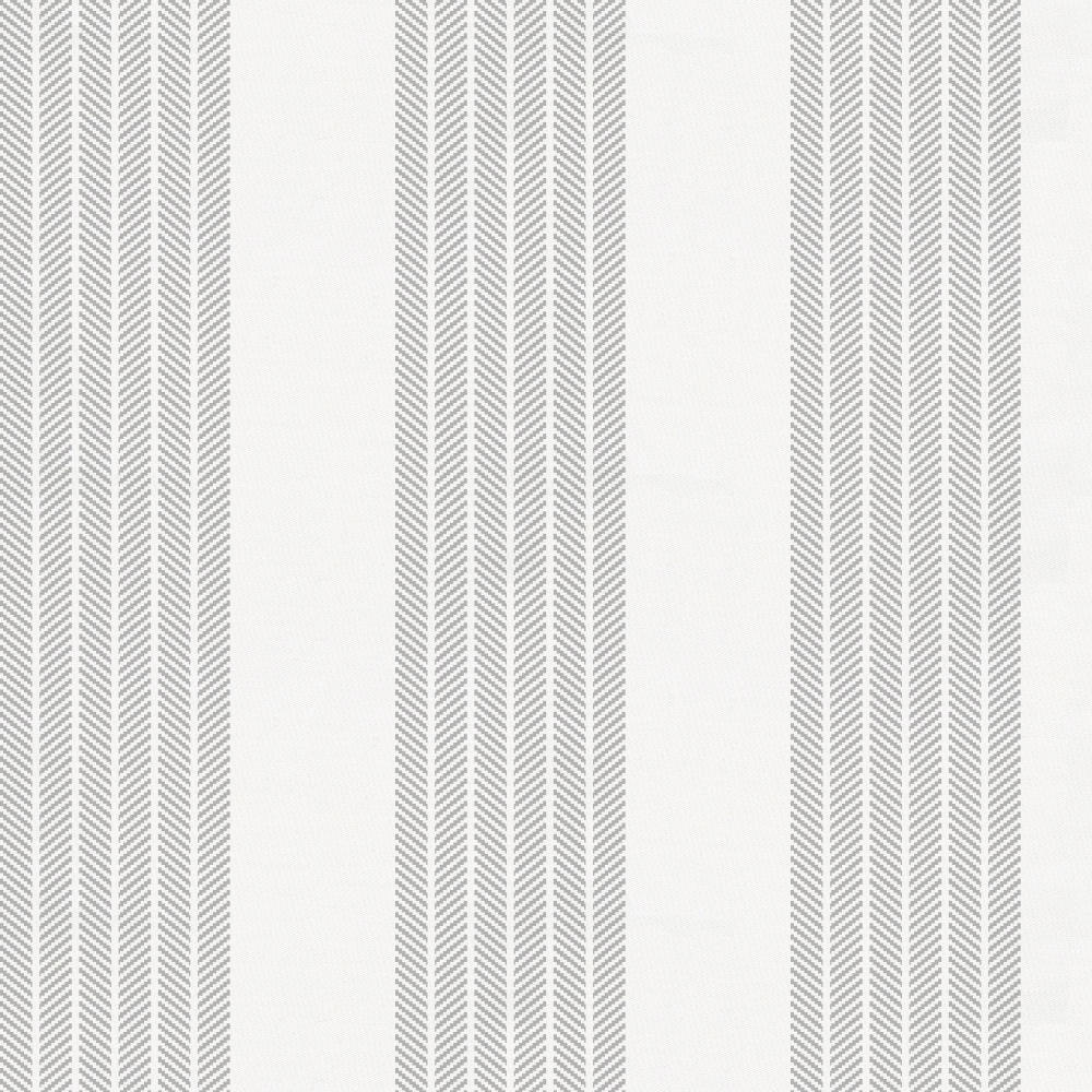 Product image for Silver Gray Seaside Stripe Drape Panel
