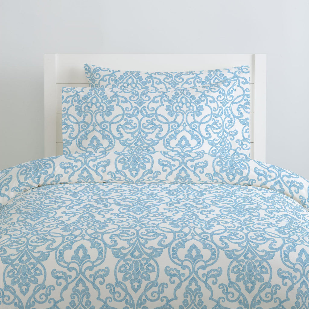 Product image for Blue Filigree Pillow Case