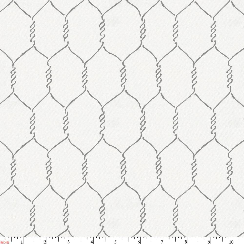 Product image for Gray Farmhouse Wire Fabric