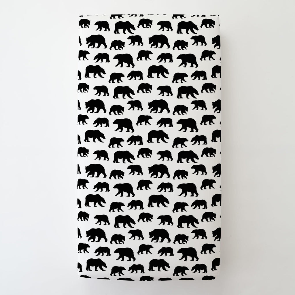 Product image for Onyx Bears Toddler Sheet Bottom Fitted