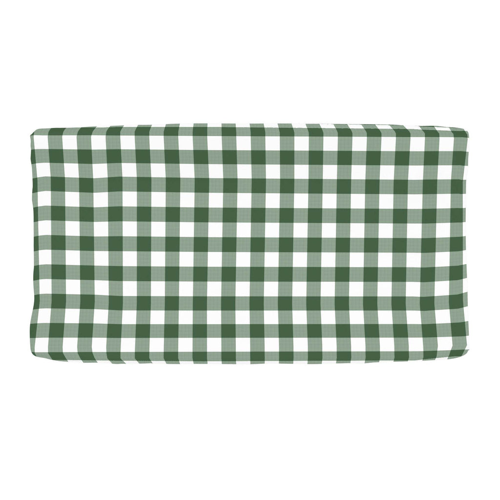 Product image for Evergreen Gingham Changing Pad Cover
