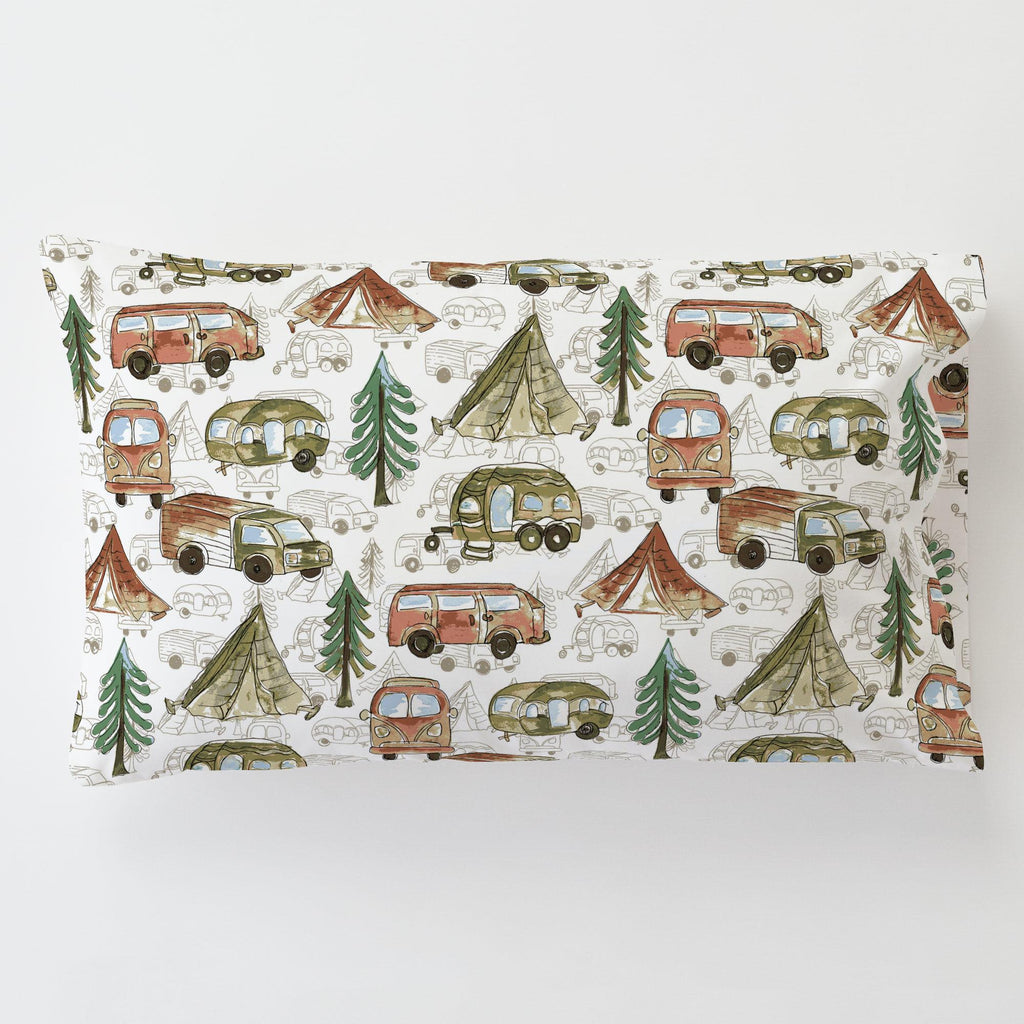 Product image for Gone Camping Toddler Pillow Case