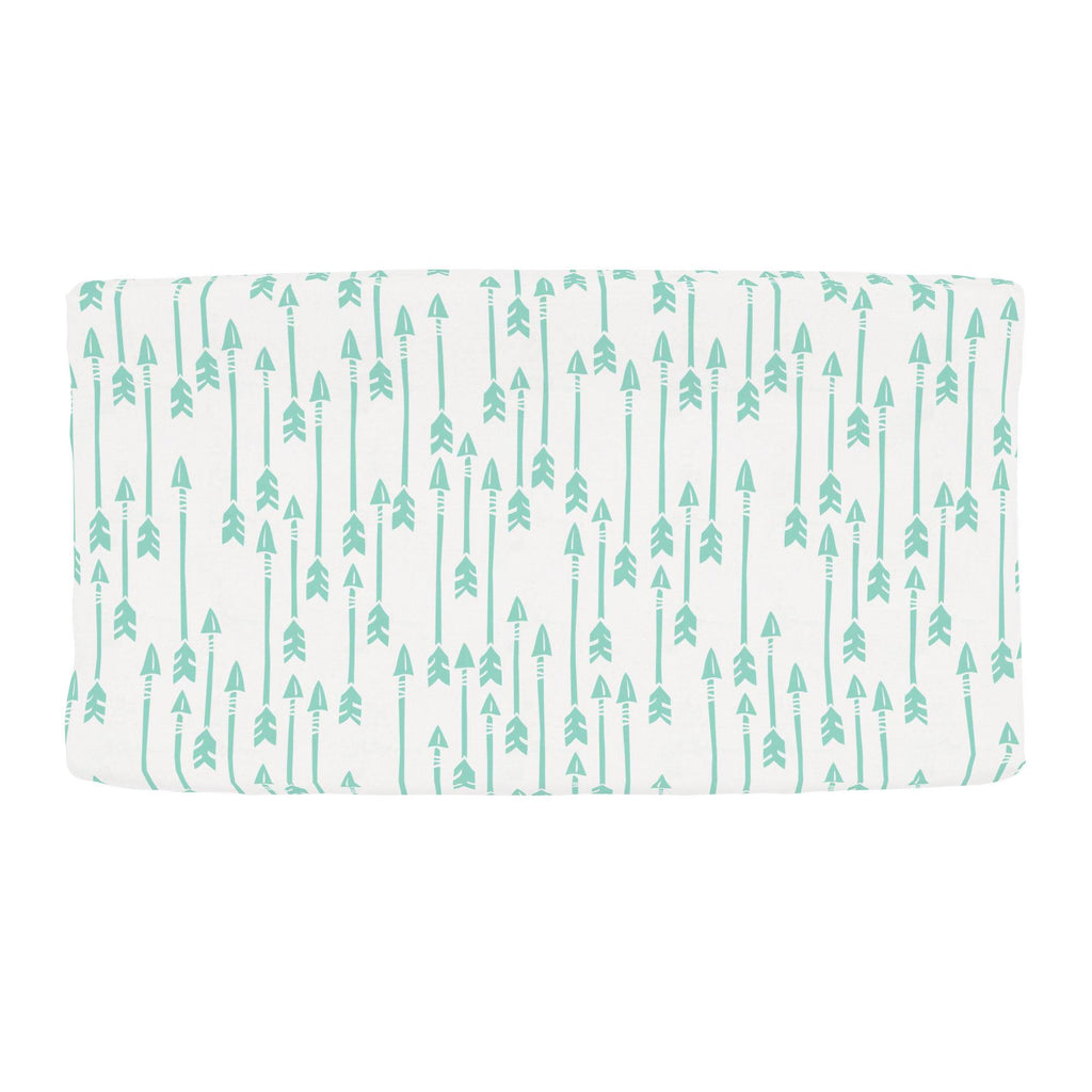 Product image for Mint Flying Arrow Changing Pad Cover