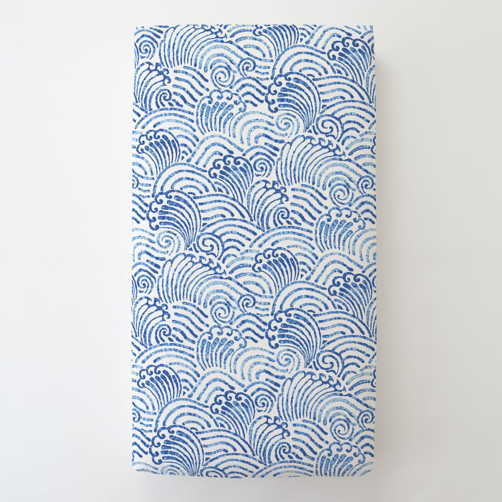 Product image for Blue Seas Toddler Sheet Bottom Fitted