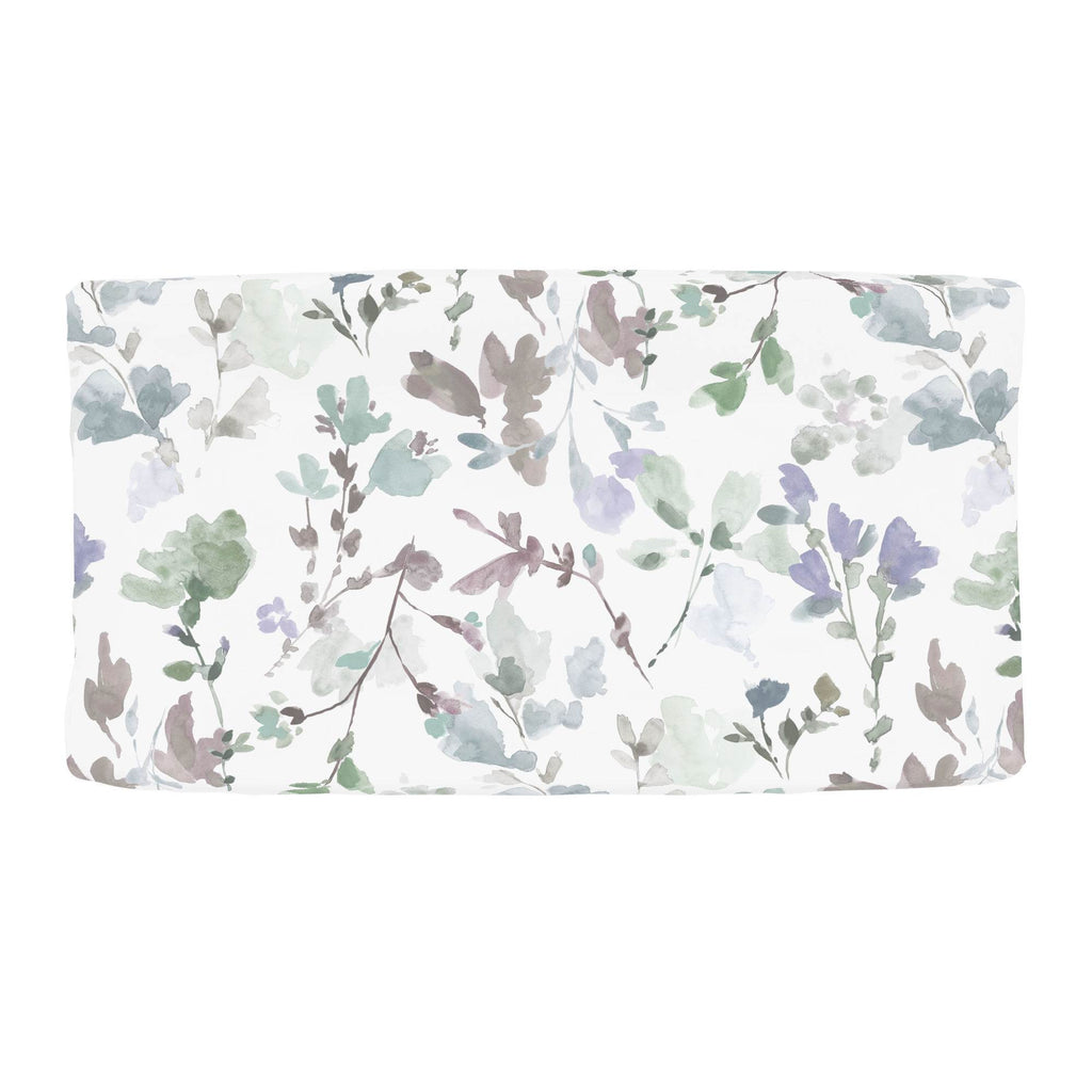 Product image for Soft Wildflower Changing Pad Cover