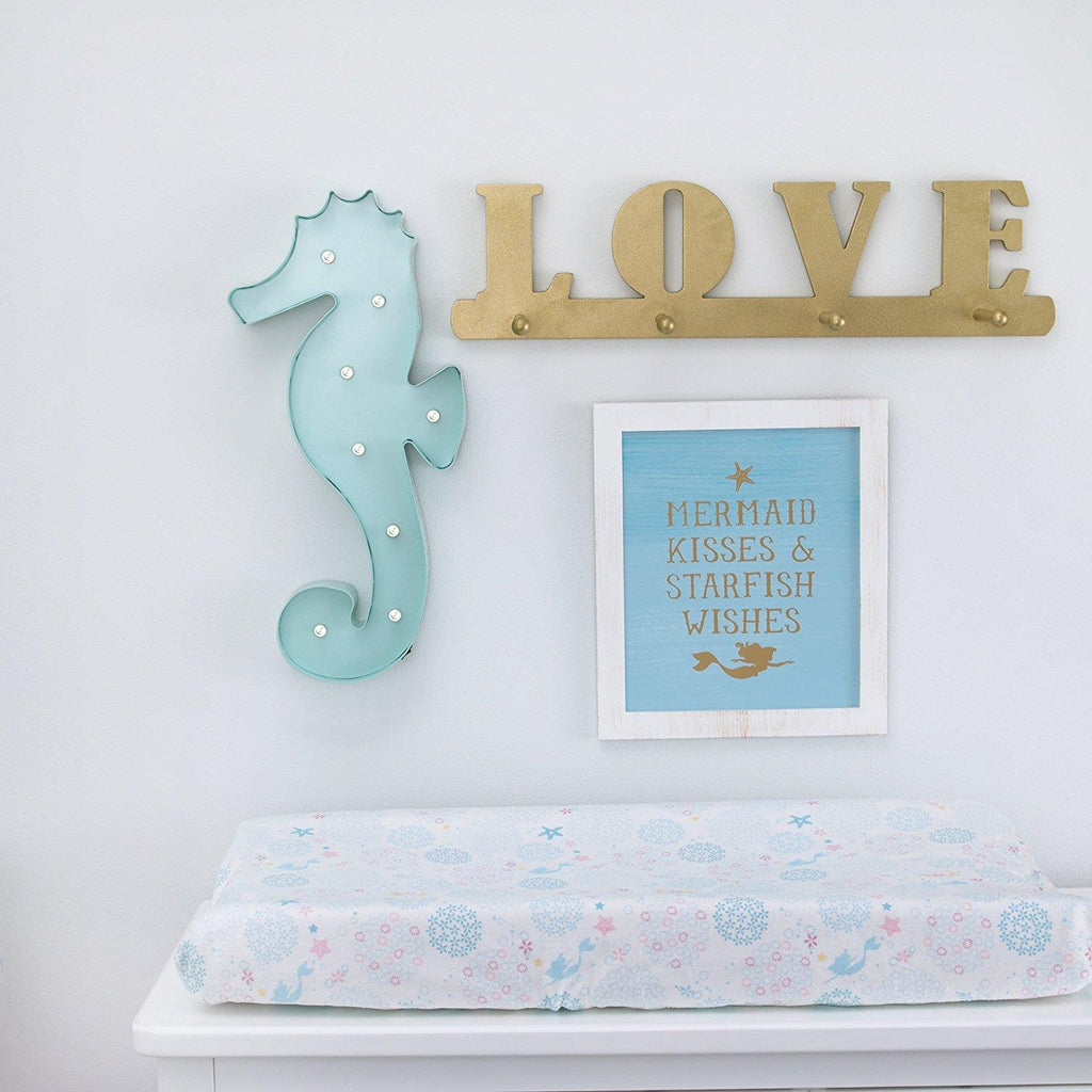 Product image for Ariel Mermaid Kissed Framed Art