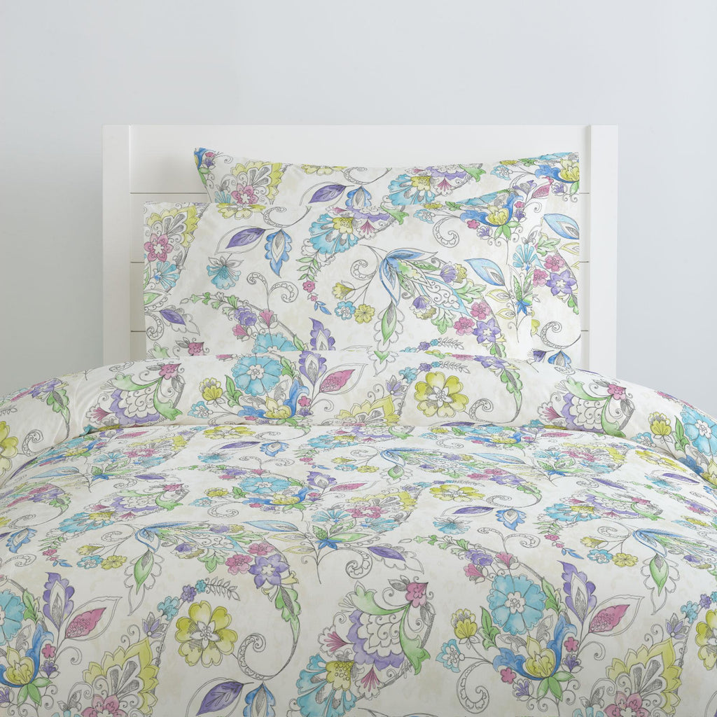 Product image for Sketchbook Floral Pillow Case