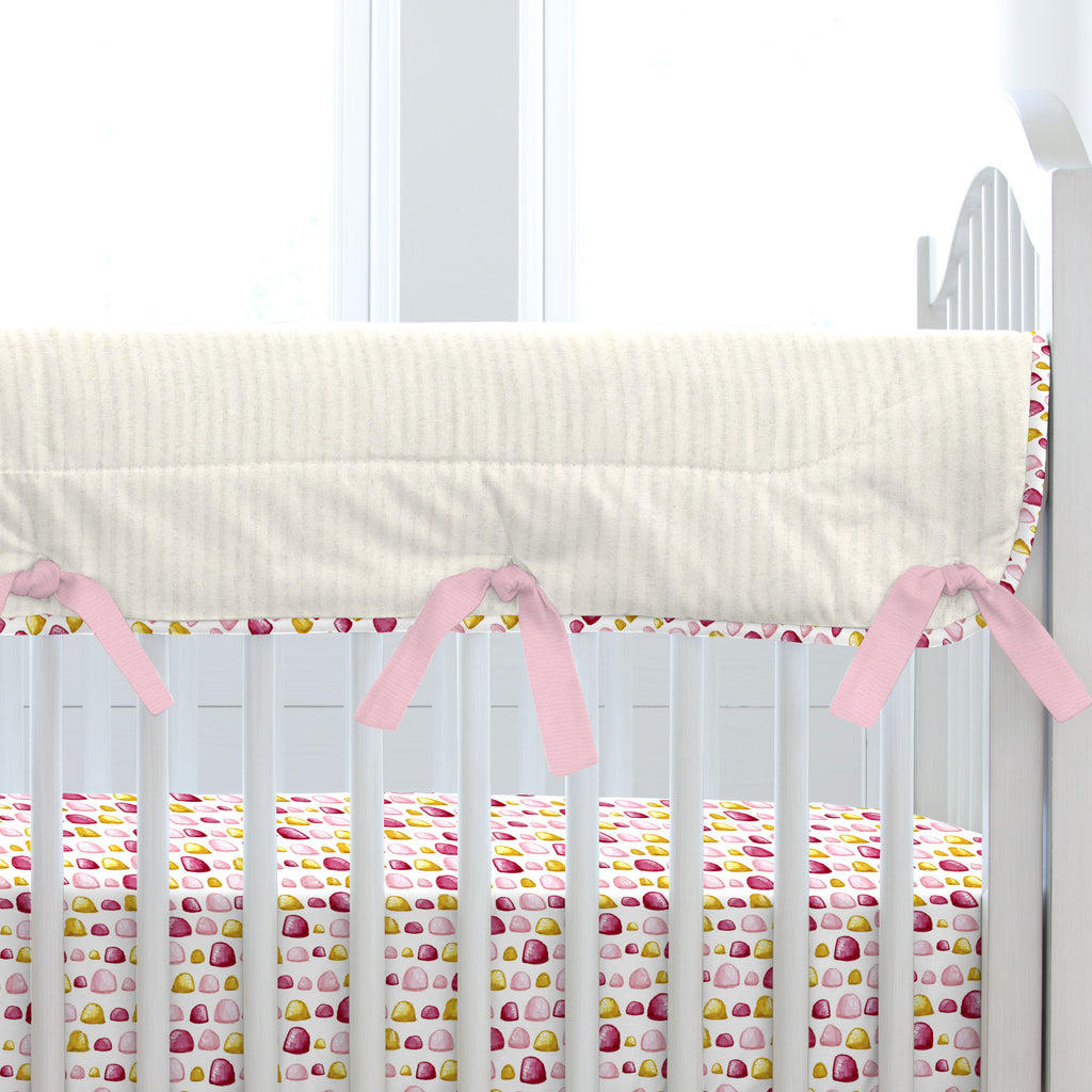 Product image for Painted Unicorns Crib Rail Cover