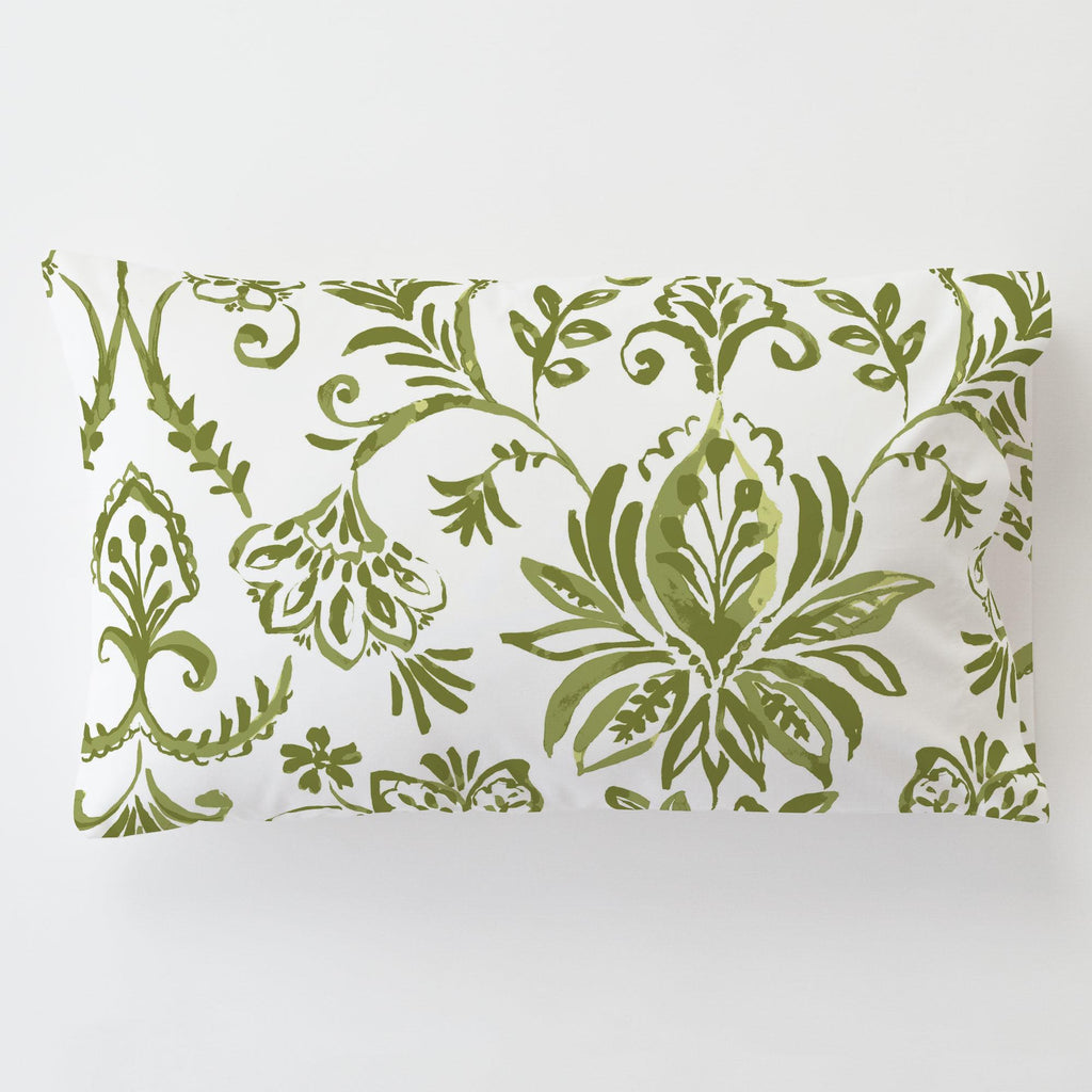 Product image for Sage Coastal Damask Toddler Pillow Case