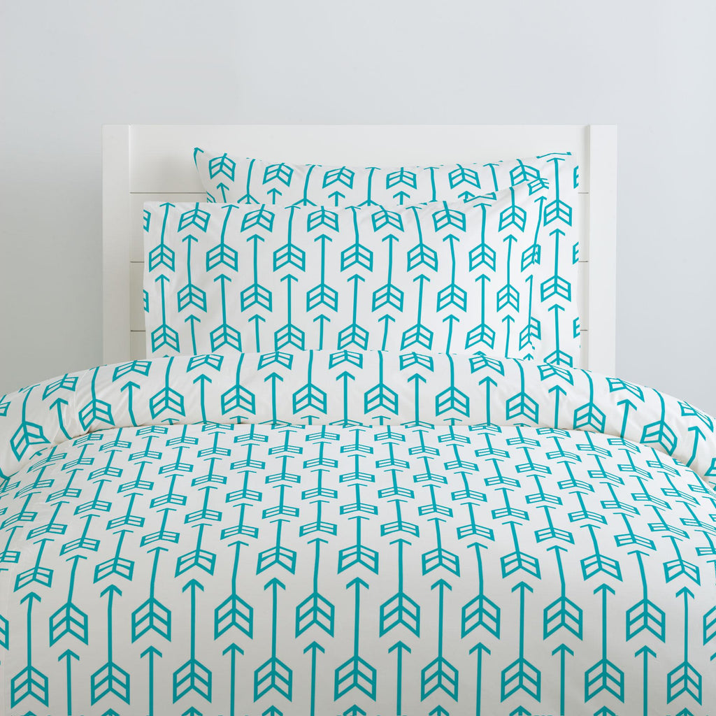 Product image for Teal Arrow Pillow Case