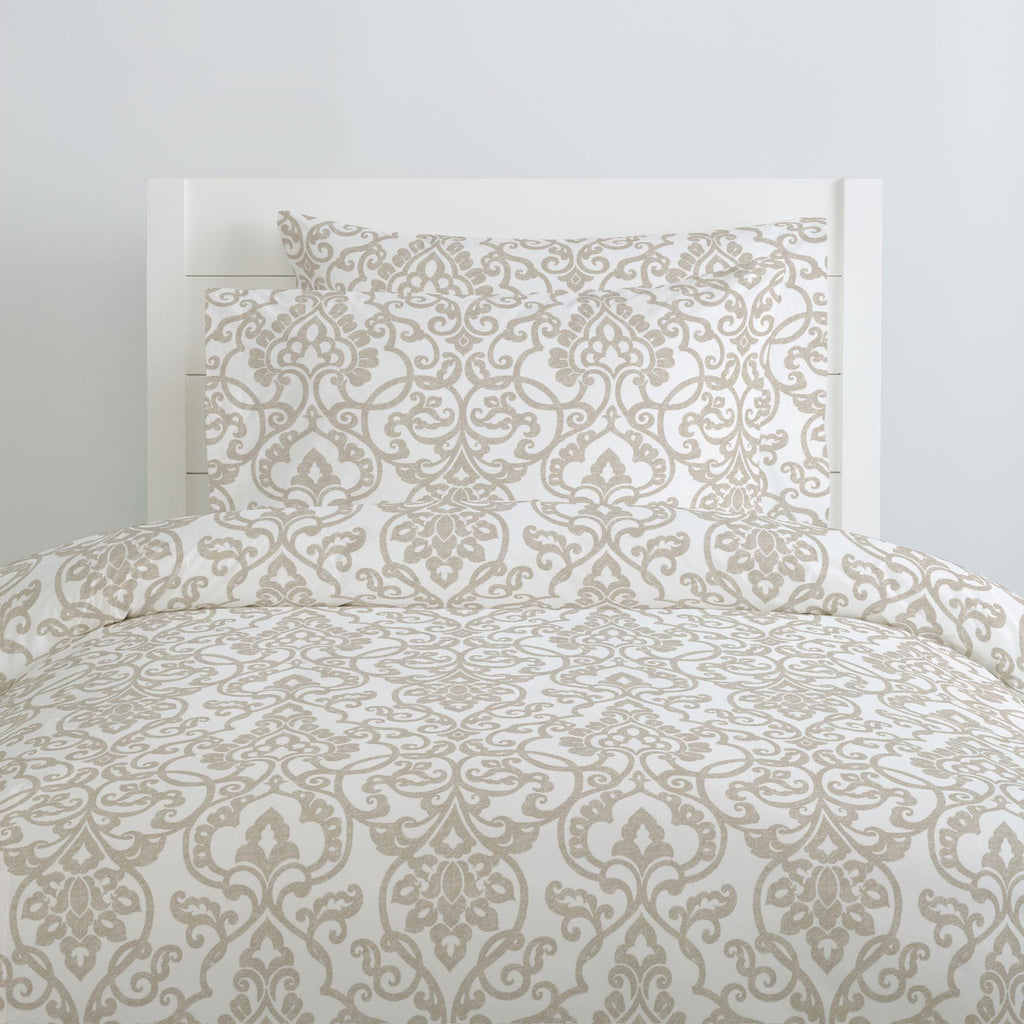 Product image for Taupe Filigree Pillow Case