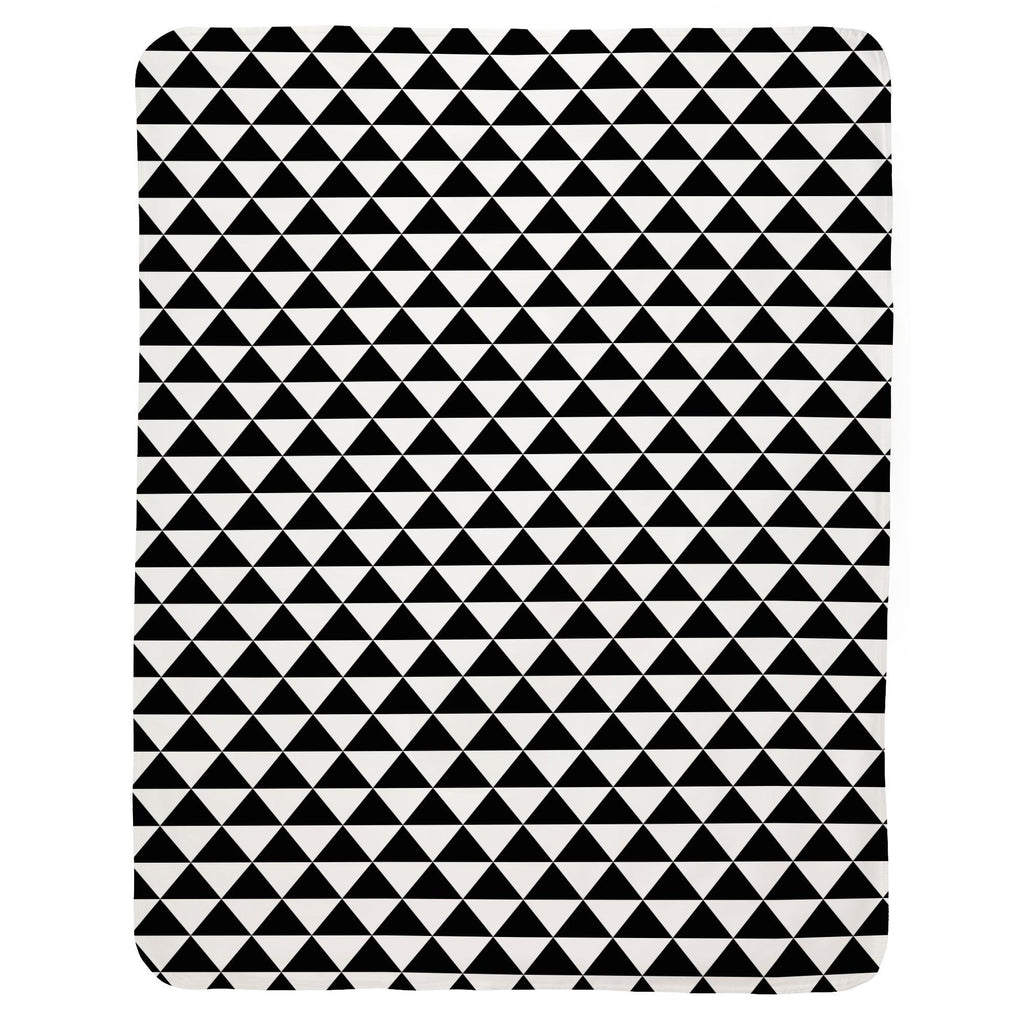 Product image for Onyx Triangle Stack Baby Blanket