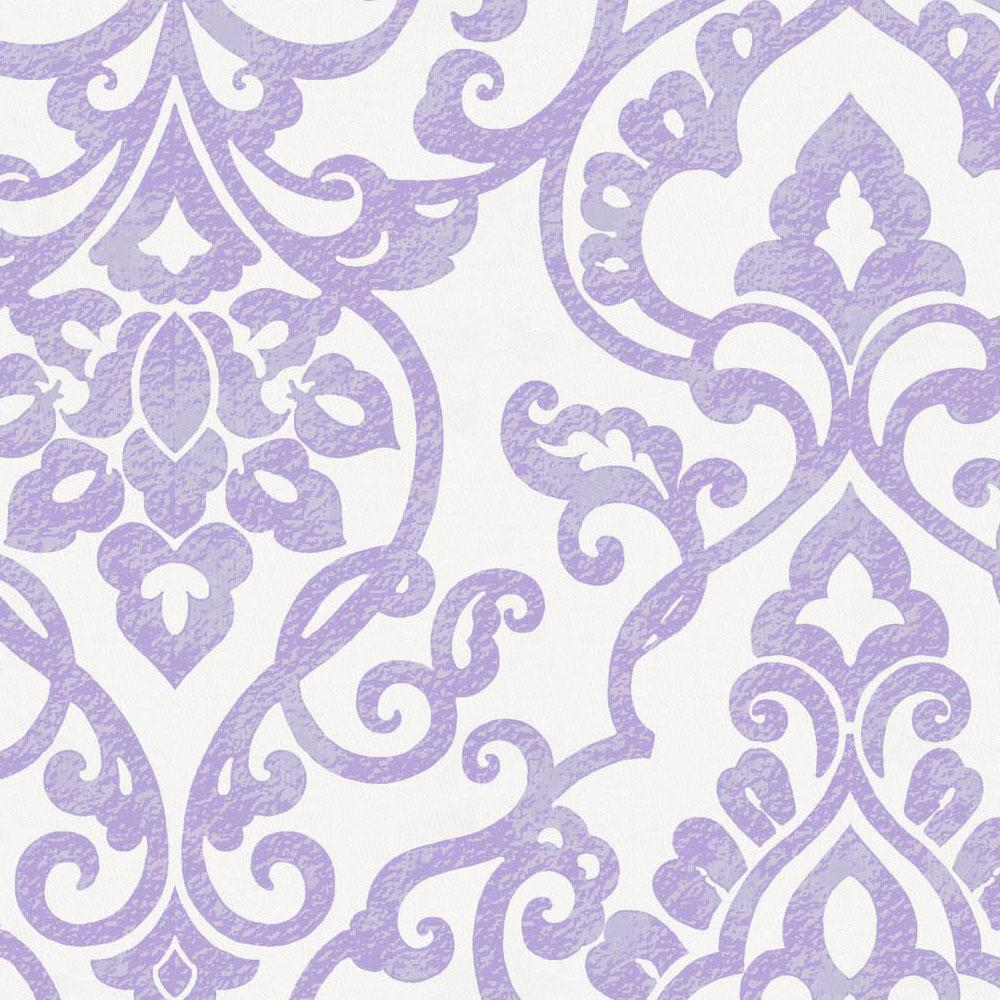 Product image for Lilac Filigree Throw Pillow