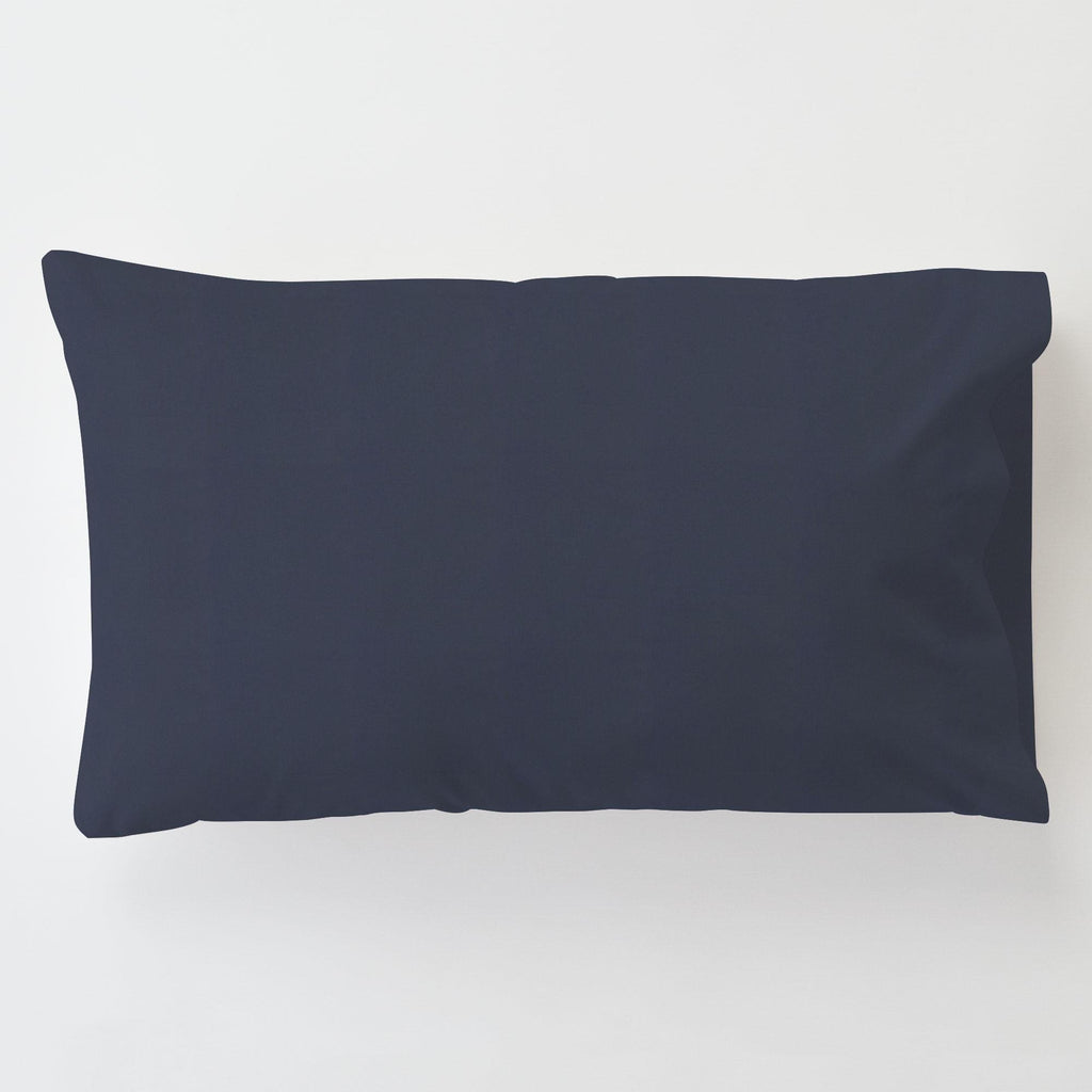 Product image for Solid Navy Toddler Pillow Case