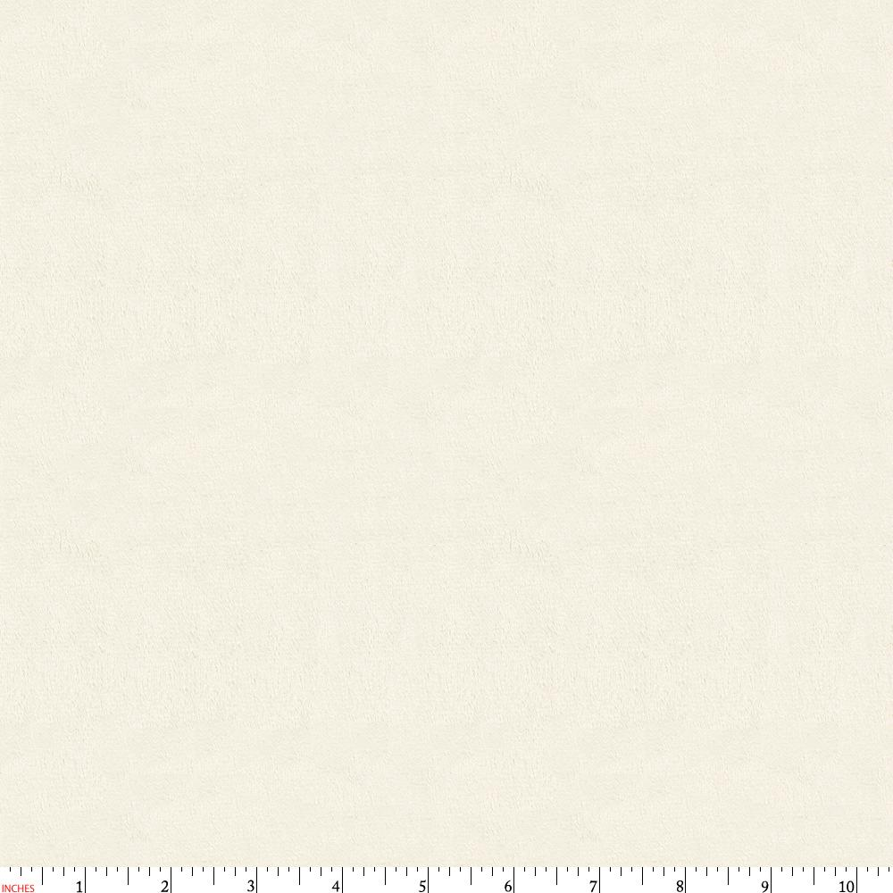 Product image for Solid Cream Minky Fabric