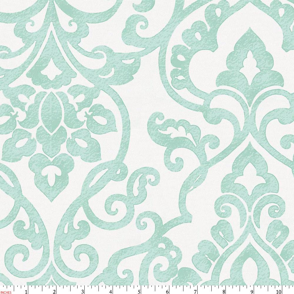 Product image for Mint Filigree Fabric