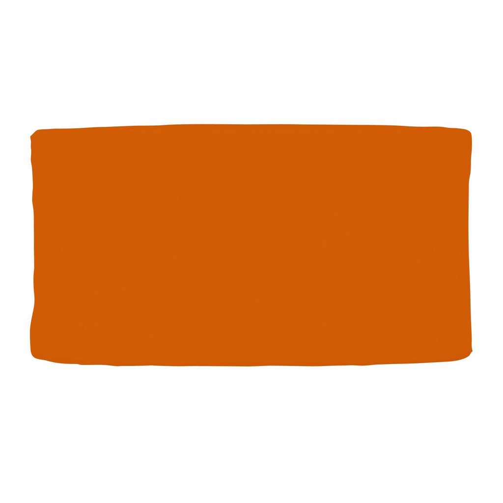 Product image for Solid Orange Changing Pad Cover