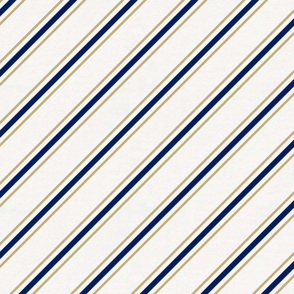 Product image for Tan and Navy Necktie Stripe Baby Play Mat