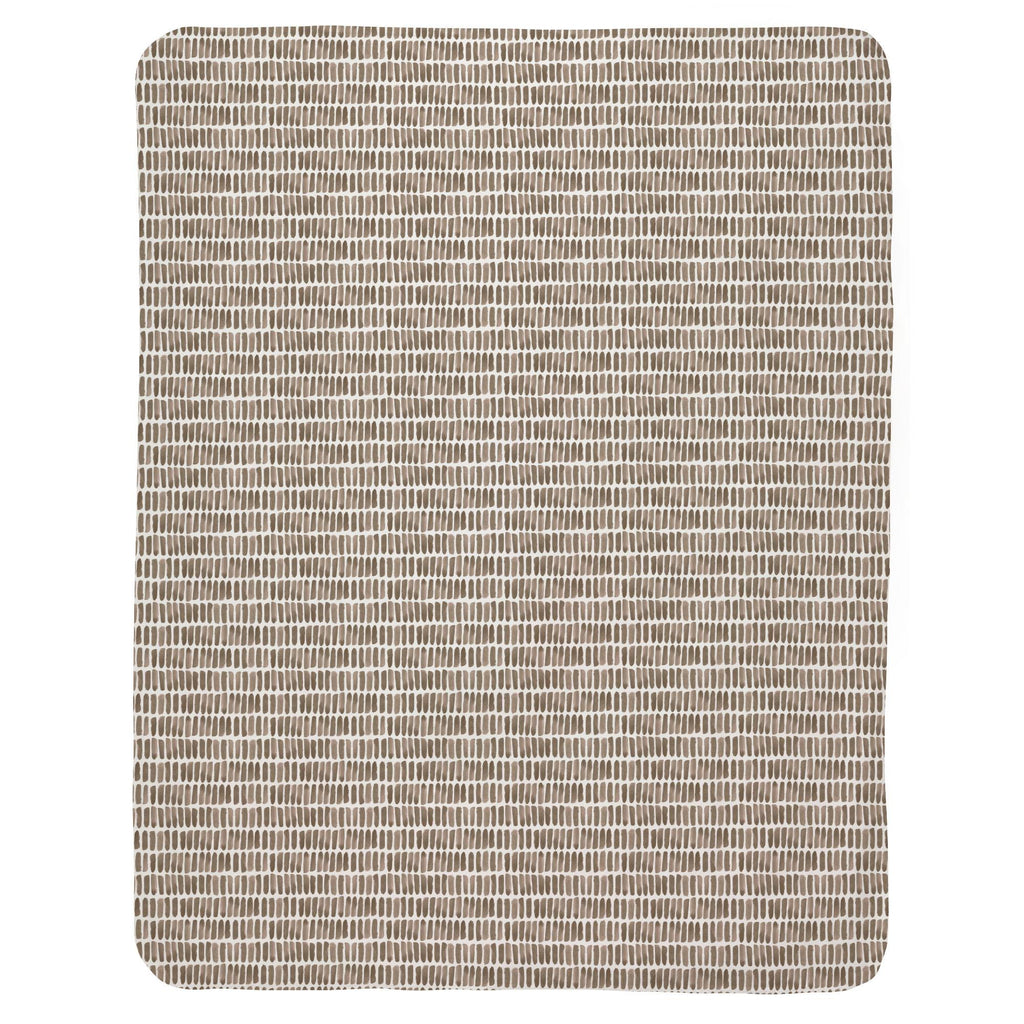 Product image for Mocha Forest Sticks Baby Blanket