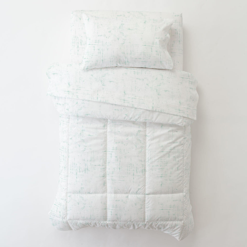Product image for Mint Distressed Toddler Comforter