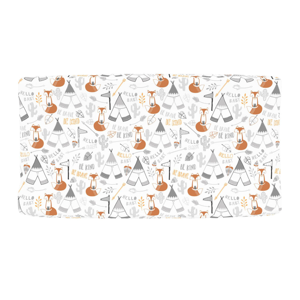 Product image for Brave Fox Changing Pad Cover